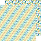Striking Stripes Paper - Hip Hip Hooray - Doodlebug