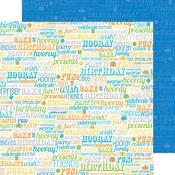 Birthday Boy Paper - Hip Hip Hooray - Doodlebug