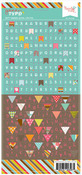 Bitty Banner Gone Typo Alpha Stickers - Hazel & Ruby