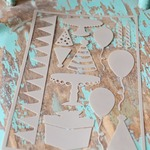 Celebrate Shapes Peel-Away Stencils
