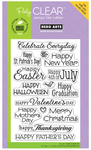 Celebrate Everyday Clear Stamps - Hero Arts