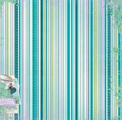 Magic Garden Paper - Enchanted Garden - Bo Bunny