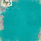Pathway Garden Paper - Enchanted Garden - Bo Bunny