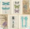 Periodical Garden Paper - Enchanted Garden - Bo Bunny