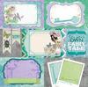 Pixies Garden Paper - Enchanted Garden - Bo Bunny