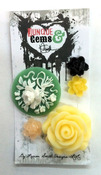 Mixed Resin Flowers - Junque & Gems - Marion Smith Designs