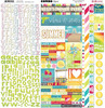 Lemonade Stand Combo Sticker Sheet - Bo Bunny
