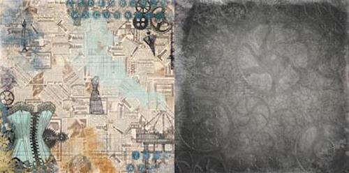 Chrononaut Paper - Somewhere In Time - Bo Bunny