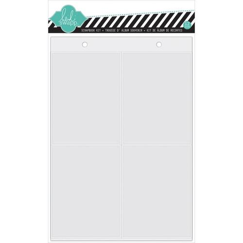 Favorite Things 6 x 8 Album Page Protectors - Heidi Swapp