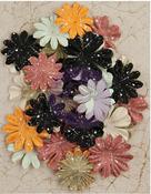 Time Flies Paper Flowers - Time Travelers Memories - Prima