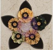 In Time Paper Flowers & Leaf - Time Travelers Memories - Prima