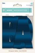 Blue Monogram Alphas - Necessities - My Minds Eye