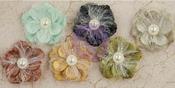 Big Time Fabric Flowers - Time Travelers Memories - Prima