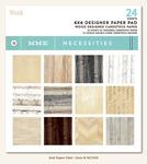 Woods 6 x 6 Paper Pad - Necessities - My Minds Eye