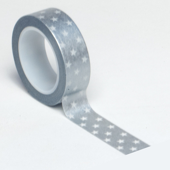 Silver Star Trendy Washi Tape - Queen & Co