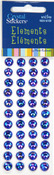Blue Rainbow 8mm Crystal Sticker Elements - Mark Richards