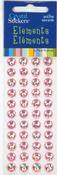 Light Pink Rainbow 8mm Crystal Sticker Elements - Mark Richards