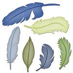 Feathers Die Set - Shapeabilities - Spellbinders