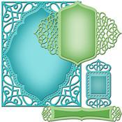 A2 Tranquil Moments Dies - Nestabilities Card Creator - Spellbinders