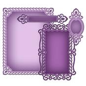 A2 Valiant Honor Die Set - Nestabilities Card Creator - Spellbinders