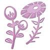 Flower Power 1 Metal Die - Inspire - Spellbinders