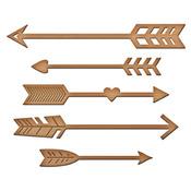 Shoot! Arrow Metal Dies - Inspire - Spellbinders