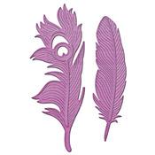 Feathers On The Wind Metal Dies - Inspire - Spellbinders