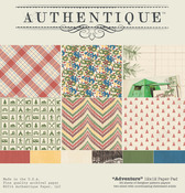 Adventure 12 x 12 Paper Pad - Authentique