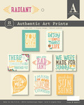 Radiant Authentic Art Prints - Authentique
