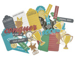 Awards Die Cut Collectables - Game On - KaiserCraft