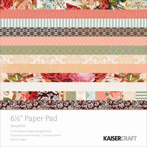 Storyteller 6.5 x 6.5 Paper Pad - KaiserCraft