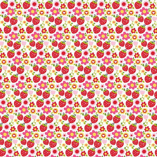 Strawberry Squeeze Paper - Summer Squeeze - Bella Blvd