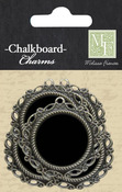 Chalk Talk Metal Charms - Melissa Frances