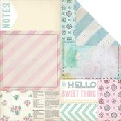 Bits & Pieces Paper - The Sweet Life - Melissa Frances