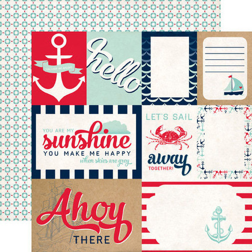 Let's Sail Paper - Ahoy There - Carta Bella