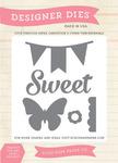 Sweet, Butterfly, Banner Die Set - Echo Park