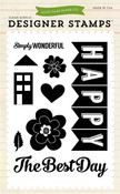 Happy Family Stamp Set - Echo Park