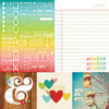 Quote & Photo Mat Element Paper - Good Day Sunshine - Simple Stories