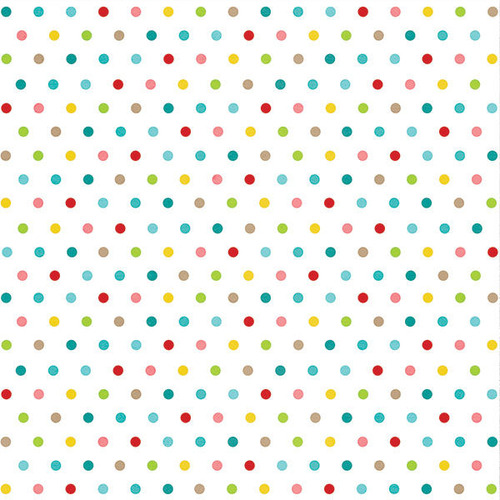 Colorful Dots Paper - Good Day Sunshine - Simple Stories