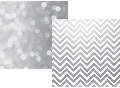 Grey Chevron Paper - The Story Of Us - Simple Stories