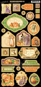 An Eerie Tale Decorative Chipboard - Graphic 45
