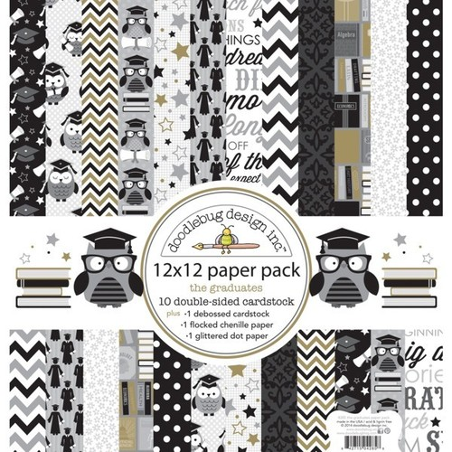The Graduates Paper Pack - Doodlebug