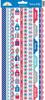 Patriotic Parade Fancy Frills Stickers - Doodlebug