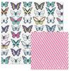 Butterflies Paper - Inked Rose - We R Memory Keepers