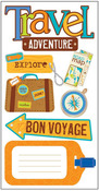Travel - Adventure Stickers - Essentials By Sandylion