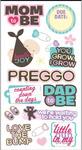 Mom & Dad To Be Stickers - Essentials By Sandylion