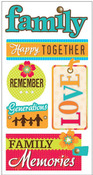 Family Memories Stickers - Essentials By Sandylion