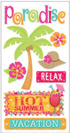 Tropical Vacation Stickers - Essentials By Sandylion