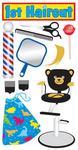 1st Haircut Stickers - Essentials By Sandylion