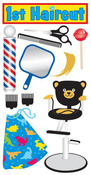 1st Haircut Stickers - Essentials By Sandylion